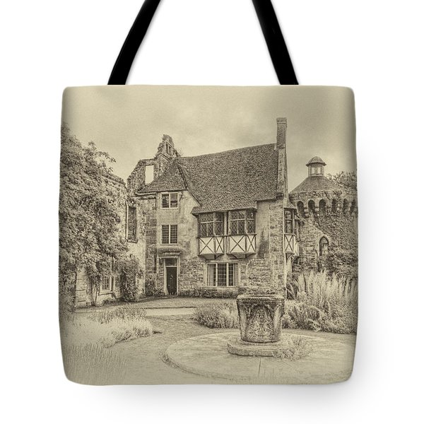 Scotney Castle Tote Bag by Chris Thaxter