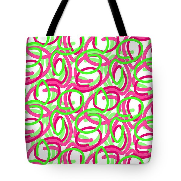 Scroll Tote Bag by Louisa Knight