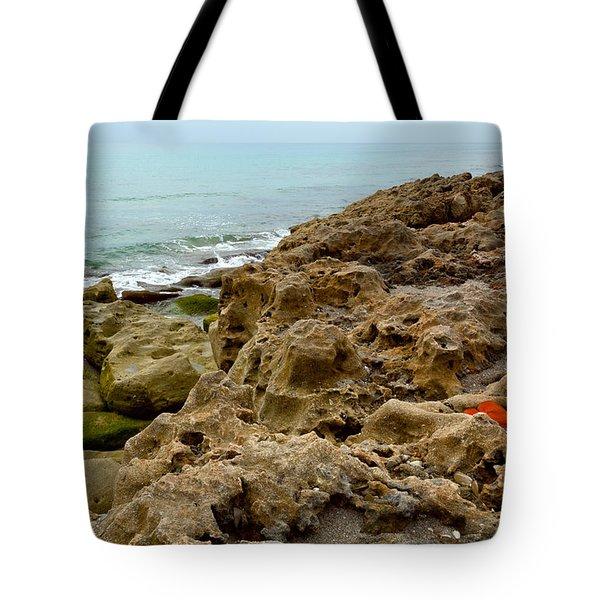Sea Grape Tote Bag by Michelle Wiarda
