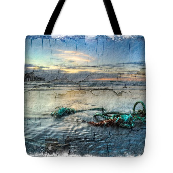 Sea Knot Tote Bag by Debra and Dave Vanderlaan