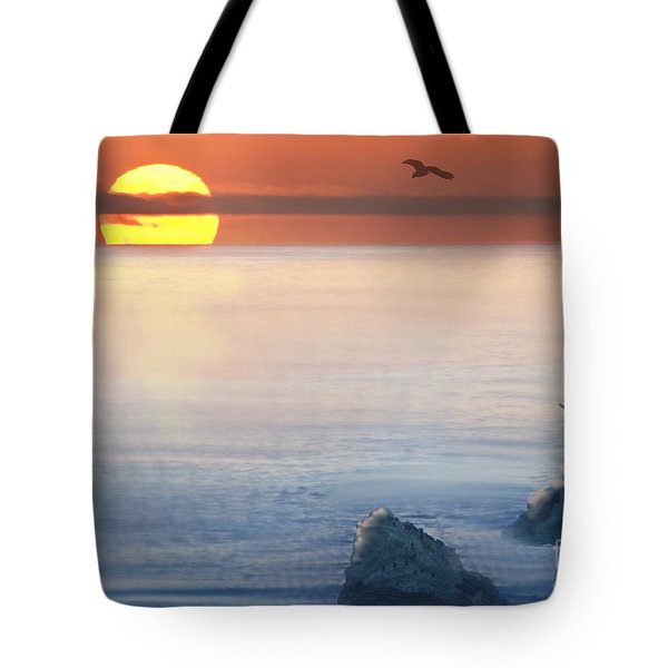 Sea Magic Tote Bag by Betty LaRue