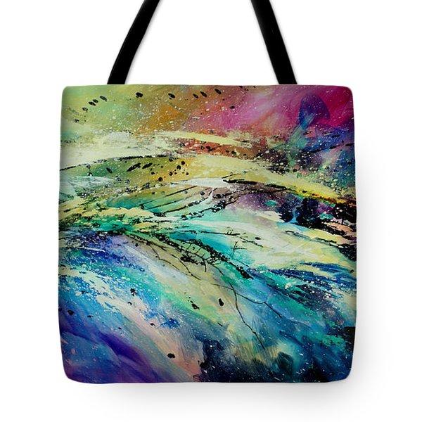 Sea Of Souls Tote Bag by Michael Lang