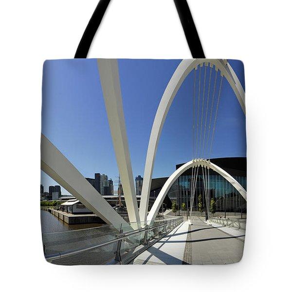 Seafarers Bridge Tote Bag by Robert Lacy