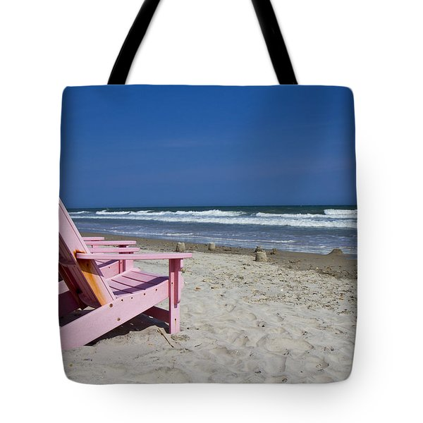 Seas The Chair  Tote Bag by Betsy Knapp