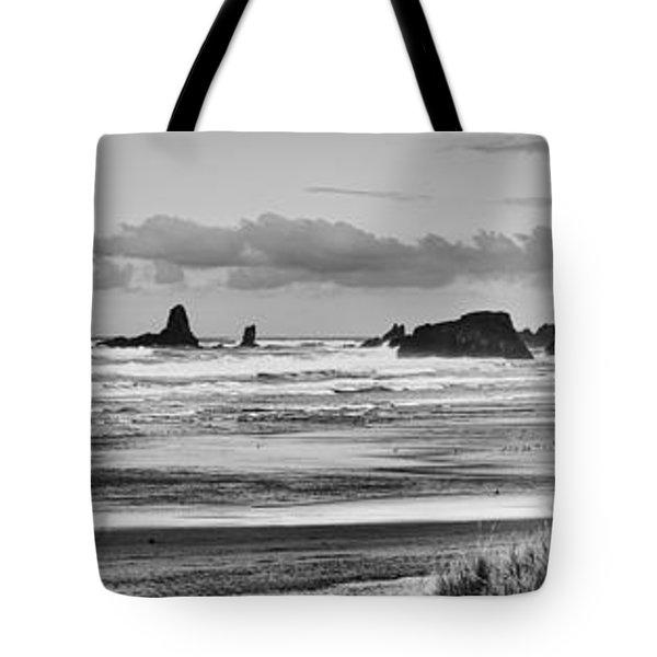 Seaside By The Ocean Tote Bag by James Heckt