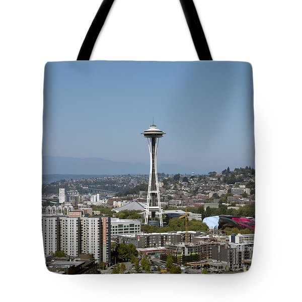 Seattle: Cityscape, 2009 Tote Bag by Granger