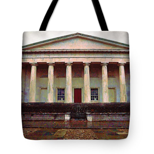 Second Bank Of The United States Philadelphia Pa Tote Bag by Bill Cannon