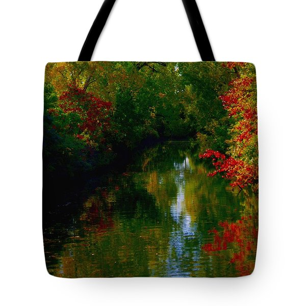 Secret Horse Creek Tote Bag by Contemporary Luxury Fine Art