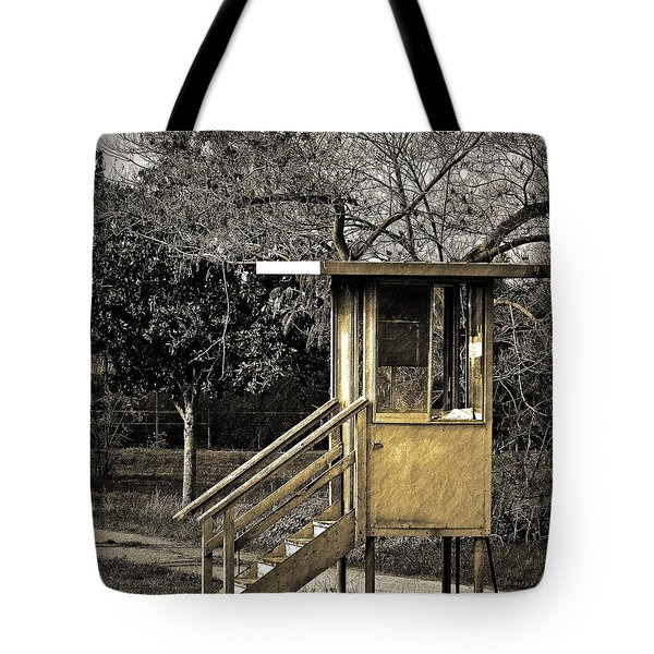 Security Check Tote Bag by Gwyn Newcombe