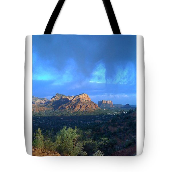 Sedona Clouds Tote Bag by Nina Prommer