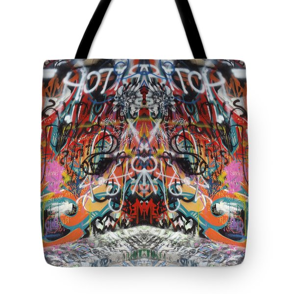 Seeing Double Tote Bag by Cindy Nunn