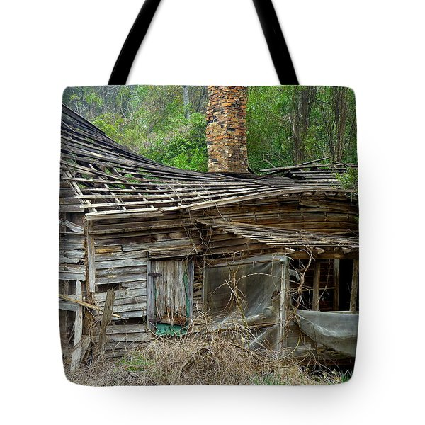 Seen Better Days Tote Bag by Carla Parris