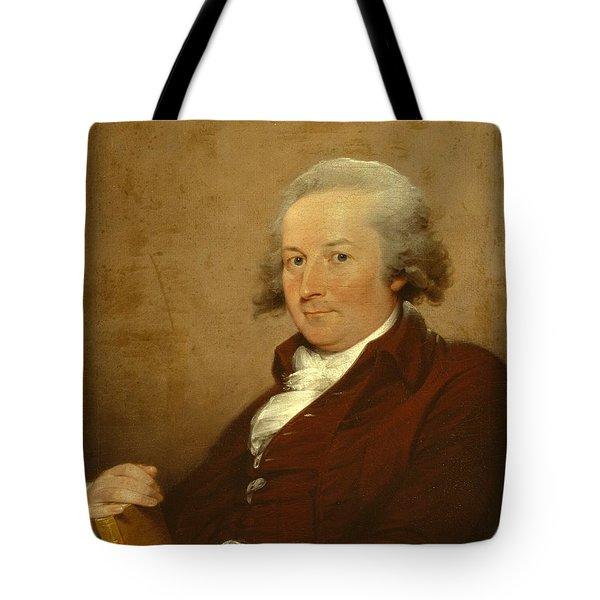 Self-portrait Tote Bag by John Trumbull