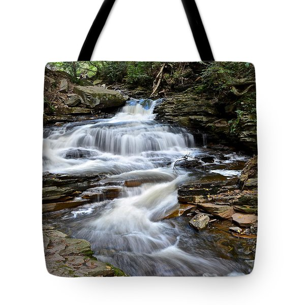 Seneca Falls Tote Bag by Frozen in Time Fine Art Photography