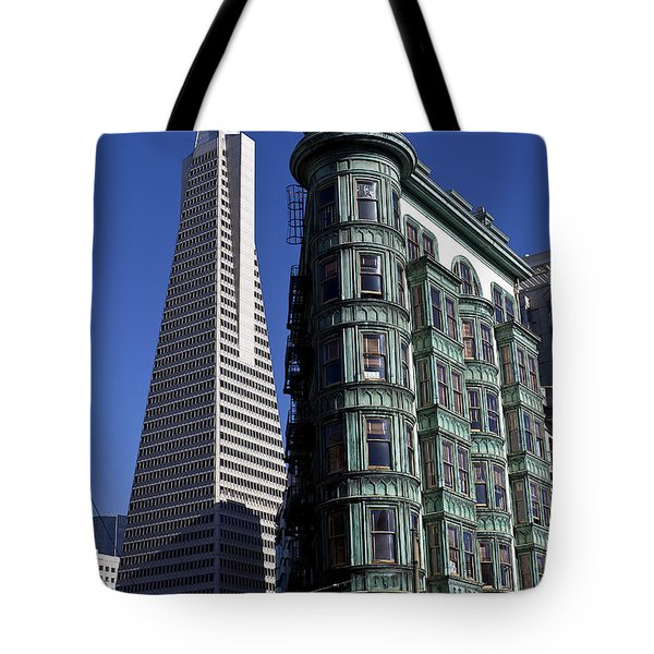 Sentinel Building San Francisco Tote Bag by Garry Gay
