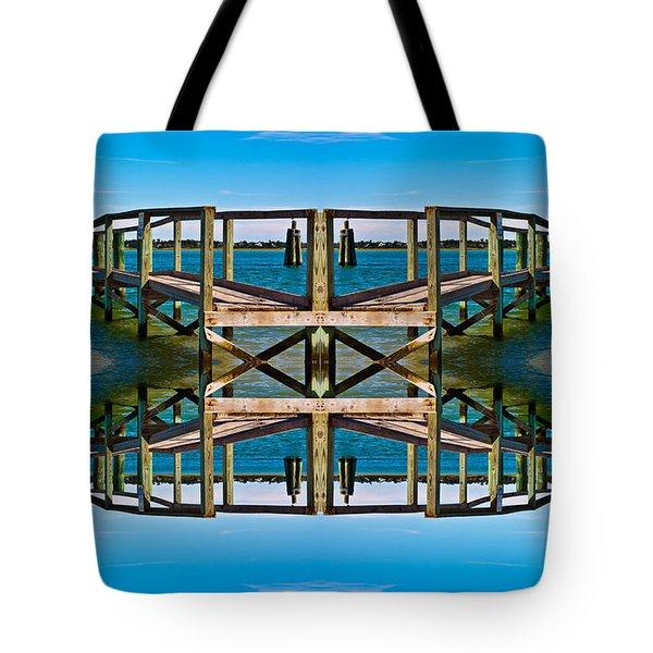 Serenity Tote Bag by Betsy Knapp