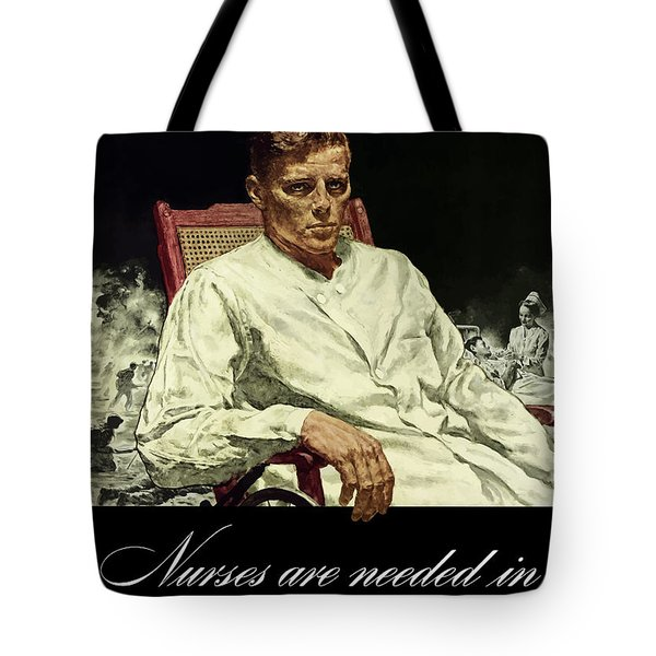 Serve Those Who Served Tote Bag by War Is Hell Store