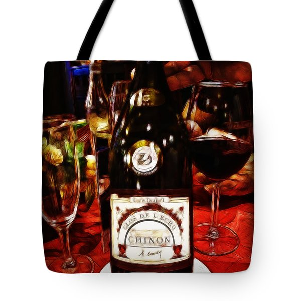 Serving Time Tote Bag by Joan  Minchak