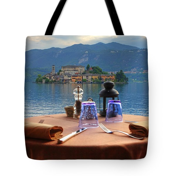 Set Table With A View Tote Bag by Joana Kruse