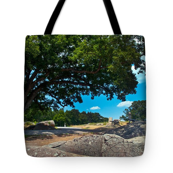 Shady Hilltop Tote Bag by Paul W Faust -  Impressions of Light