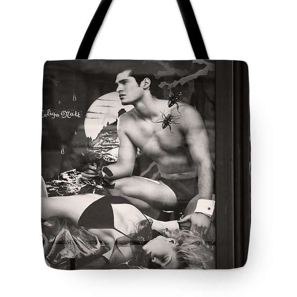 Shame On You Two...stockholm Tote Bag by Stylianos Kleanthous