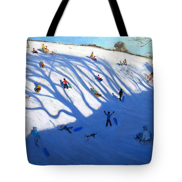 Shandows On A Hill Monyash Tote Bag by Andrew Macara