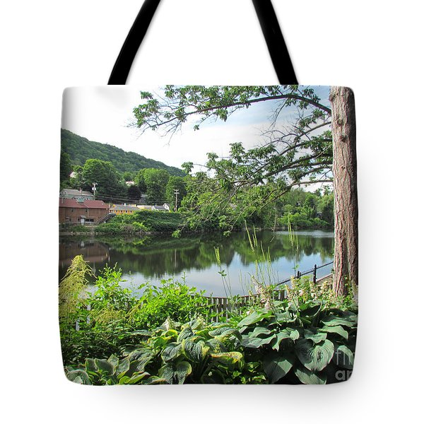 Shelburne Falls Tote Bag by Randi Shenkman