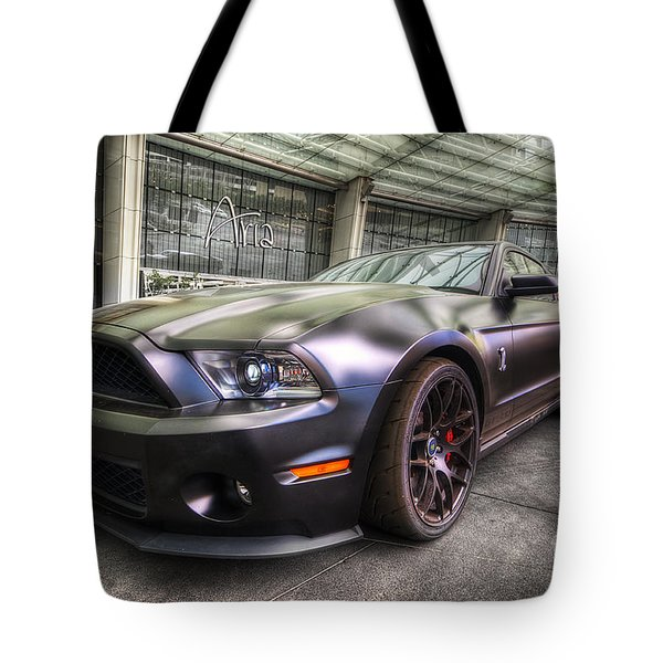 Shelby Gt500kr Tote Bag by Yhun Suarez