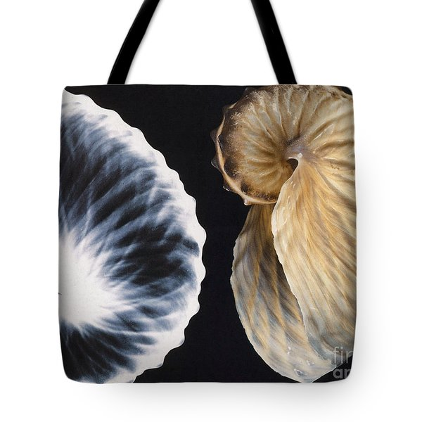 Shell X-ray Tote Bag by Photo Researchers