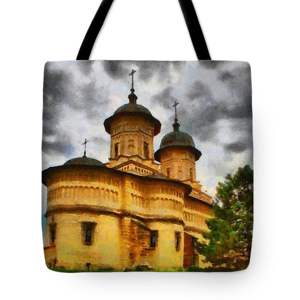 Shelter From The Coming Storm Tote Bag by Jeff Kolker