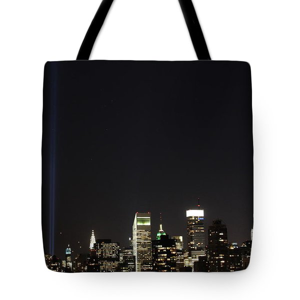 Shining Up  Tote Bag by Catie Canetti