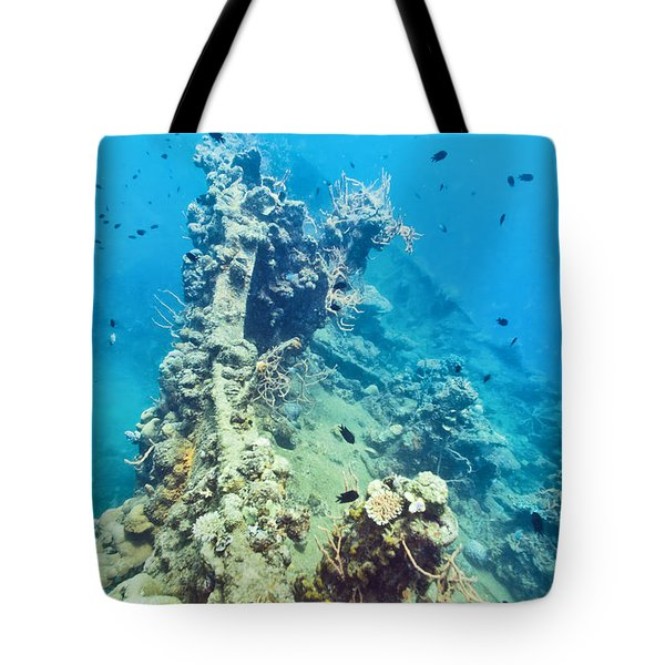 Shipwreck  Tote Bag by MotHaiBaPhoto Prints