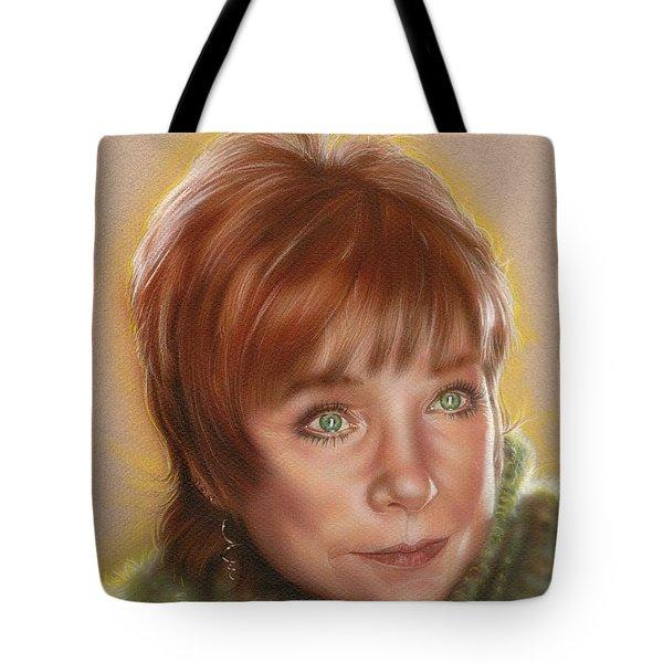 Shirley Tote Bag by Tim  Scoggins