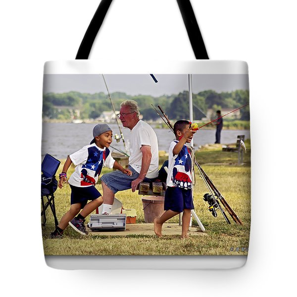 Show Grand-mom  Tote Bag by Brian Wallace