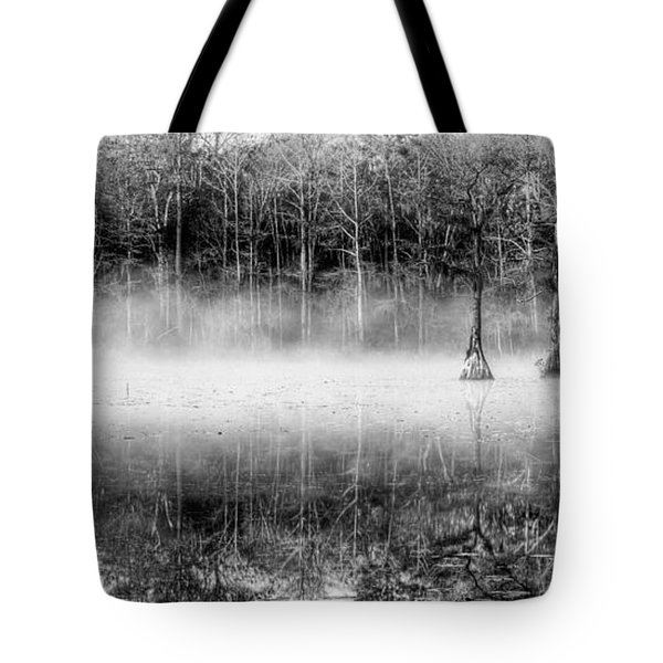 Shrouded Panoramic  Tote Bag by JC Findley
