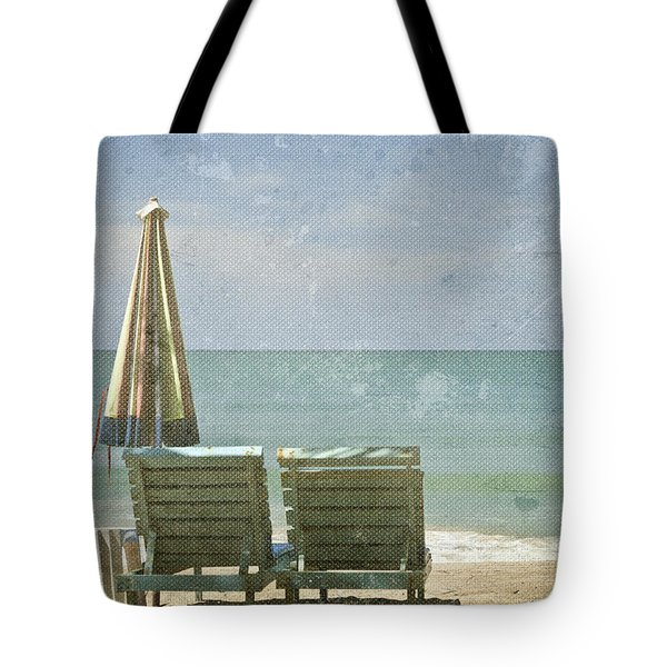 Side By Side Tote Bag by Nomad Art And  Design