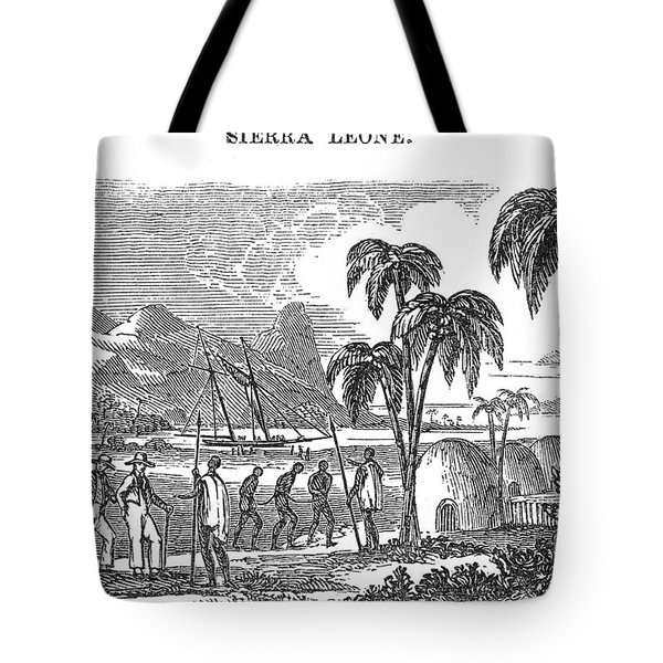 Sierra Leone: Slave Trade Tote Bag by Granger