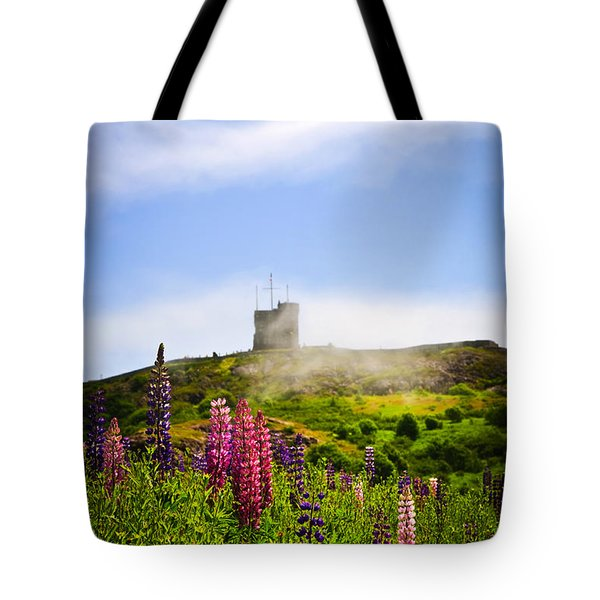 Signal Hill in St. John's Newfoundland Tote Bag by Elena Elisseeva