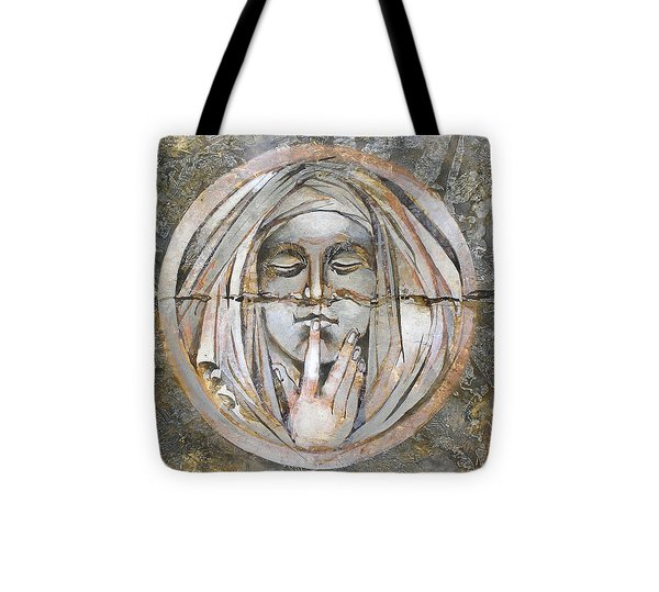 Silence Tote Bag by Mary jane Miller