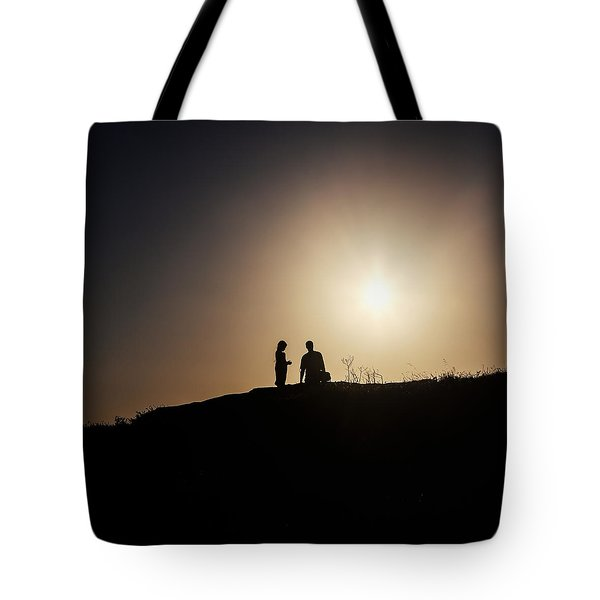 Silhouettes Tote Bag by Joana Kruse