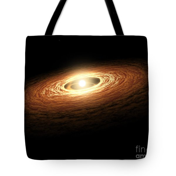 Silicate Crystal Formation In The Disk Tote Bag by Stocktrek Images