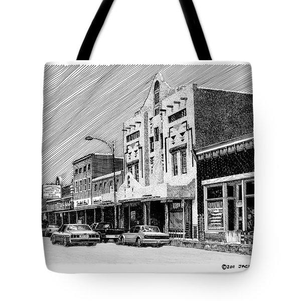 Silver City New Mexico Tote Bag by Jack Pumphrey