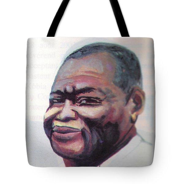 Simon Kimbangu Tote Bag by Emmanuel Baliyanga