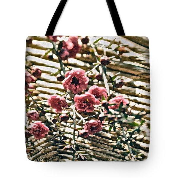 Simple Charm Tote Bag by Gwyn Newcombe