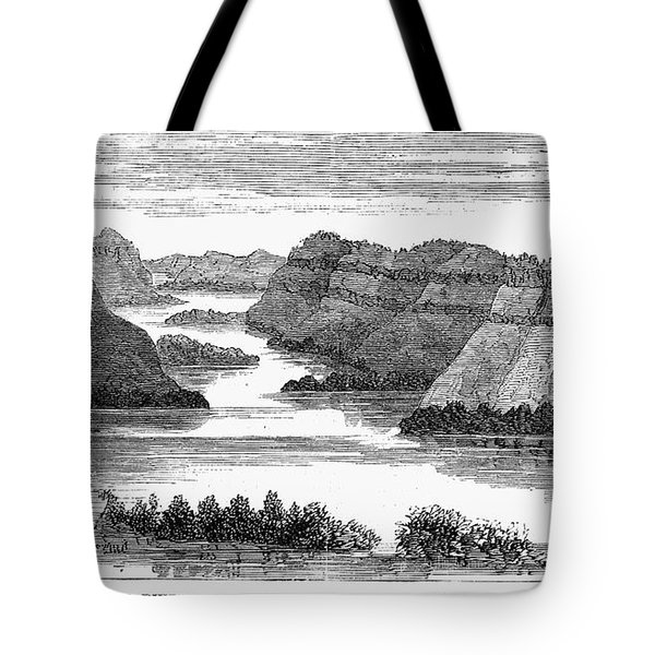 Sioux: Rosebud River Tote Bag by Granger