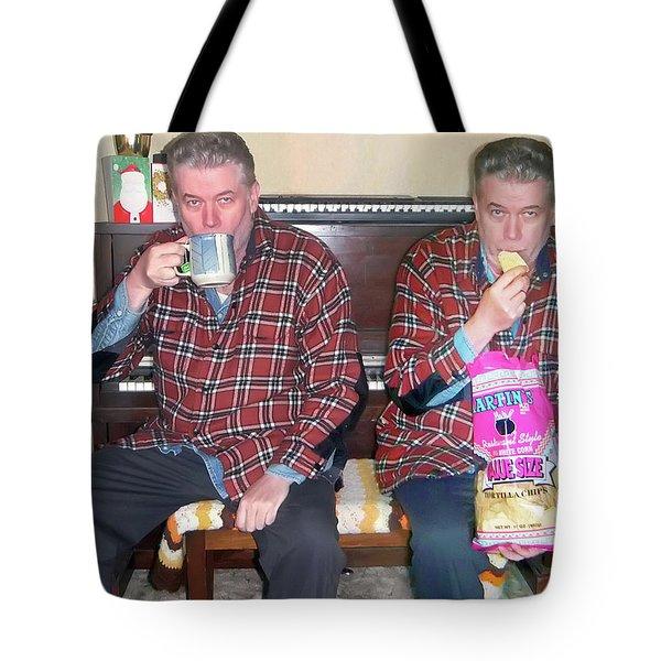 Sip And Dip Tote Bag by Brian Wallace