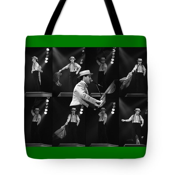 Sir Elton John 9 Tote Bag by Dragan Kudjerski