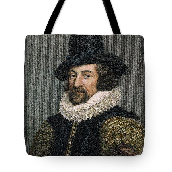 Sir Francis Bacon (1561-1626) Tote Bag by Granger