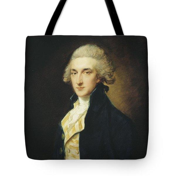 Sir John Edward Swinburne Tote Bag by Thomas Gainsborough