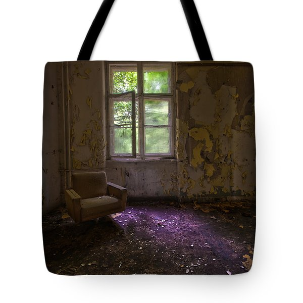 Sitting Alone Tote Bag by Nathan Wright